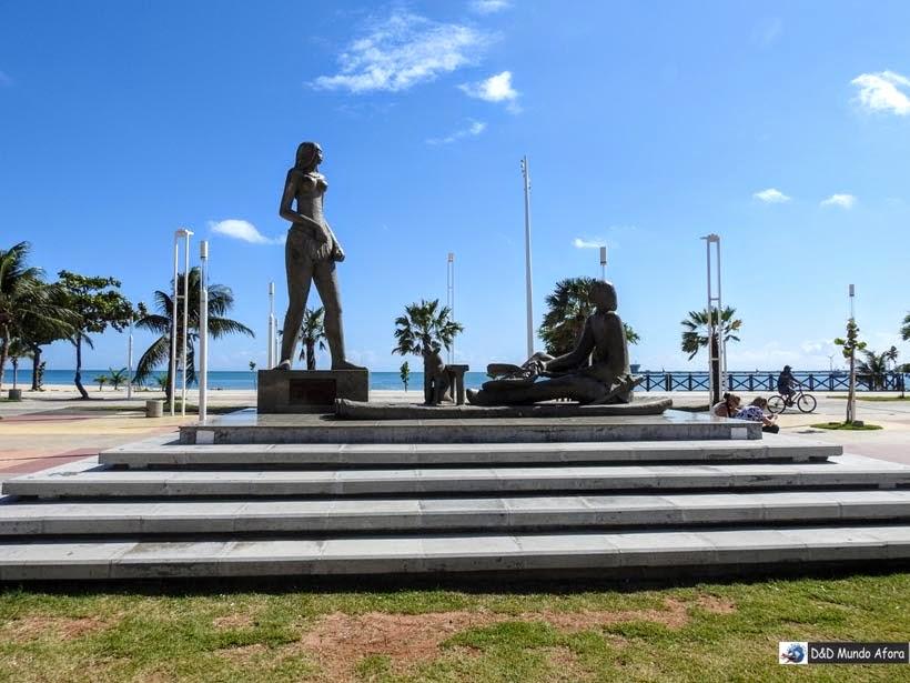 Monumento Iracema de Mucuripe - o que fazer em Fortaleza (Ceará) - 58 atrações