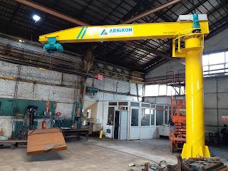 jib crane installition