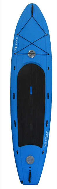 Legend Kayaks Stand Up Paddle Kayak - Blue