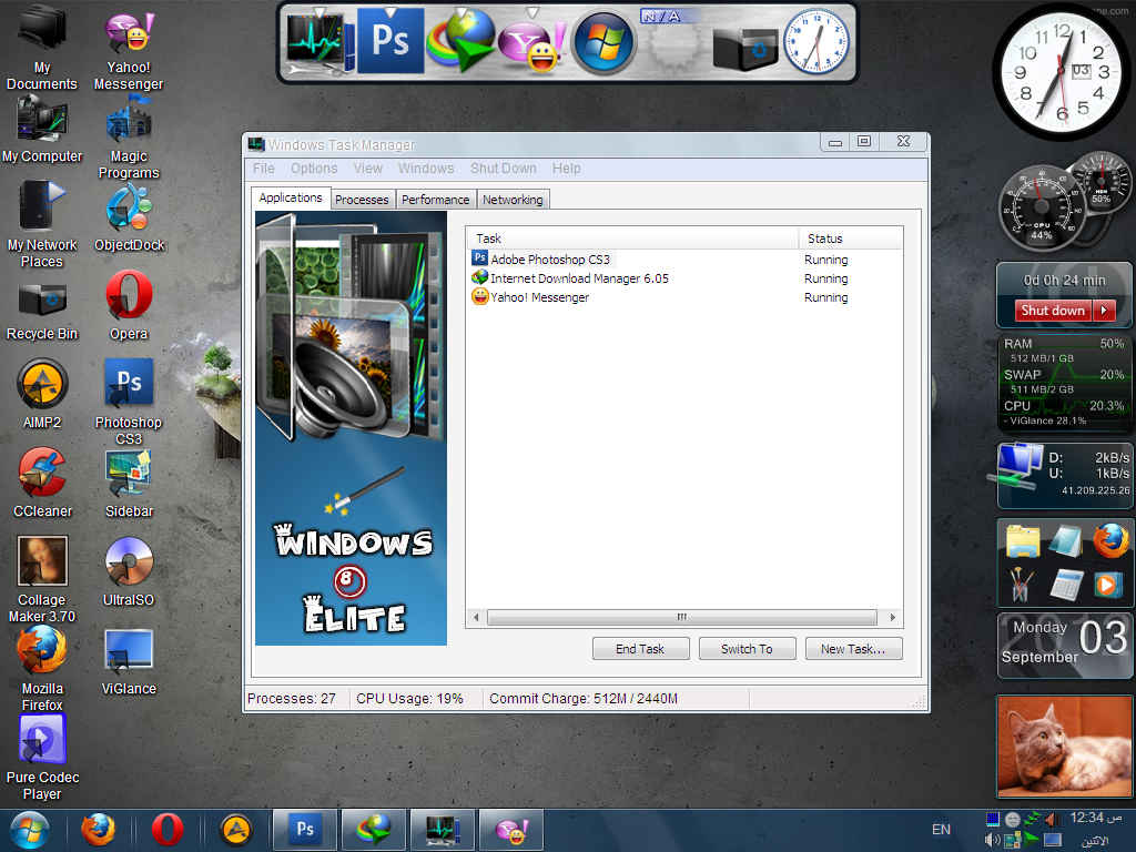 Windows XP 8 Elite Edition Full ISO