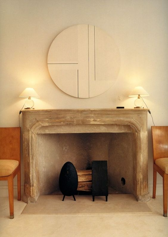 The Peak of Très Chic: Fireplace Chic