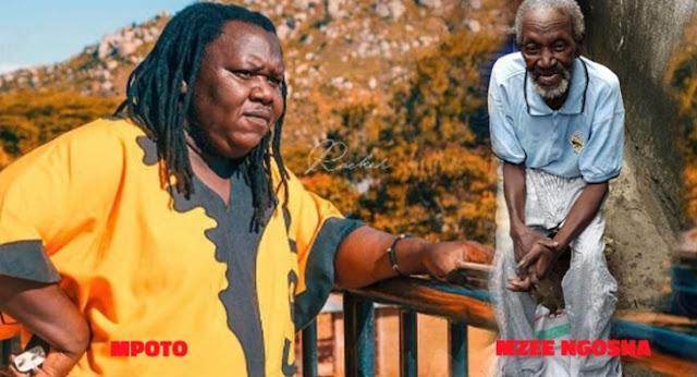 Mpoto amlilia marehemu mzee Ngosha aliyechora Nembo ya Taifa