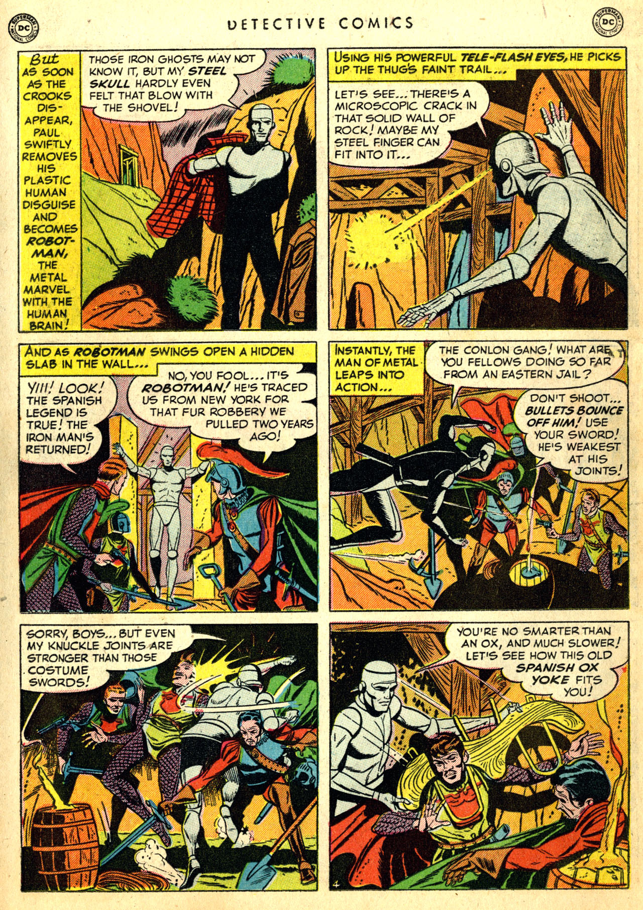 Read online Detective Comics (1937) comic -  Issue #168 - 32