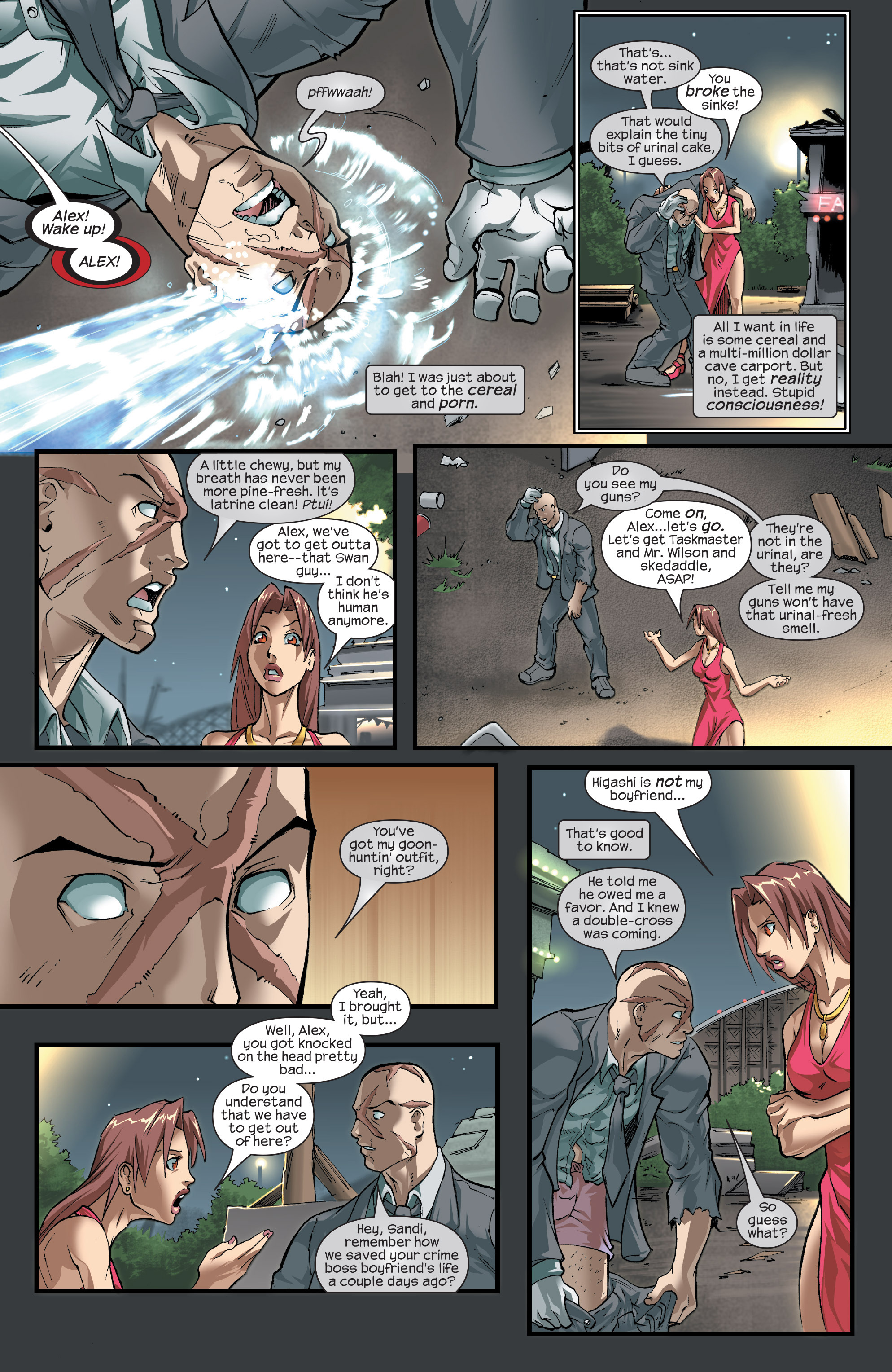 Read online Agent X comic -  Issue #15 - 5
