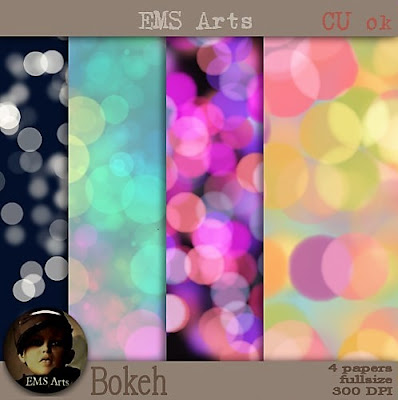 Bokeh papers freebie - CU