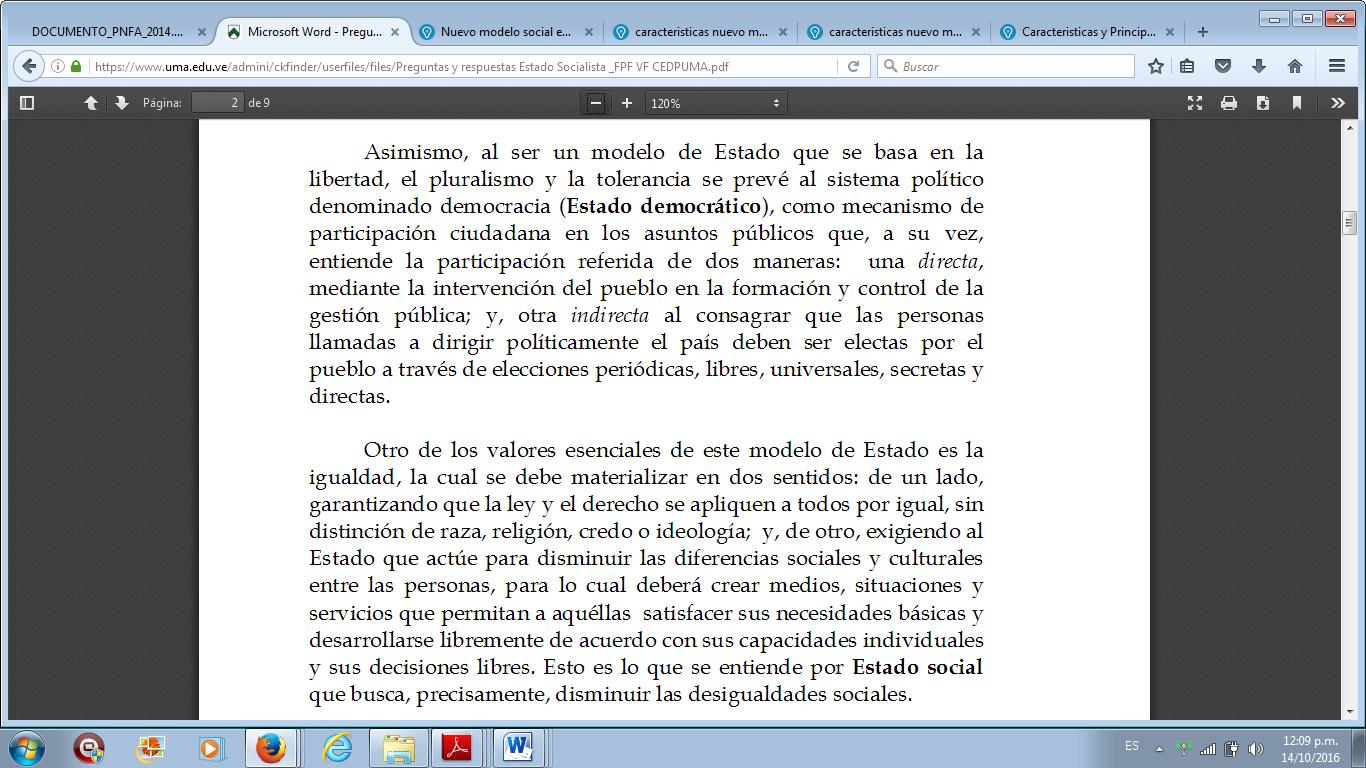 PROGRAMACIÓN UNIDAD CURRICULAR: Formación Socio Crítica III ...