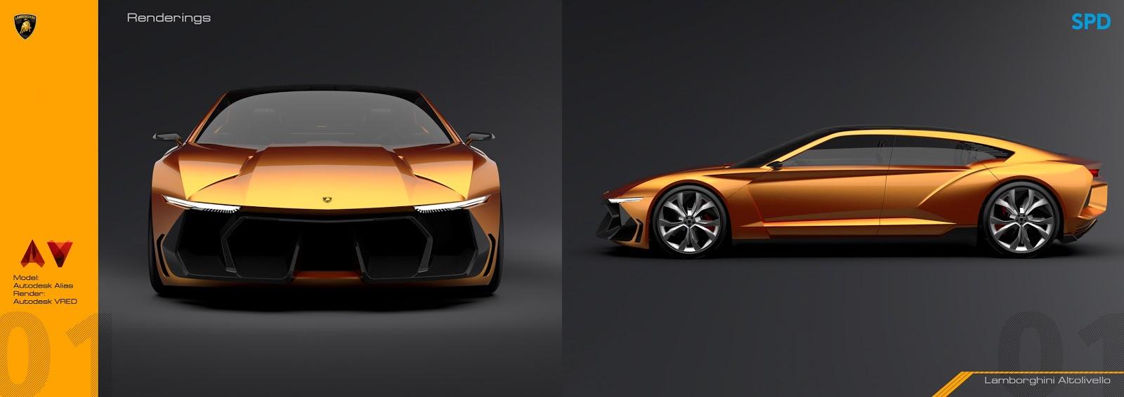 Design Portfolio Lamborghini Espada