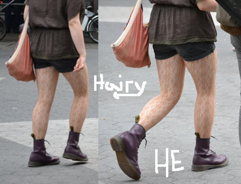 Remember Those Hairy JCrew Tights?