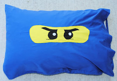 Lego Ninjago Pillowcase Pattern