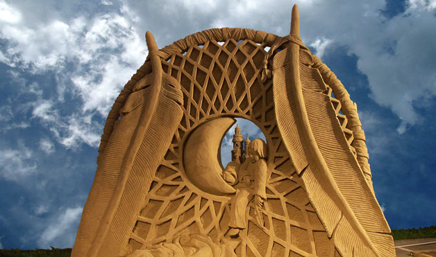 Dream Catcher - Amazing Sand Sculptures You Have to See to Believe