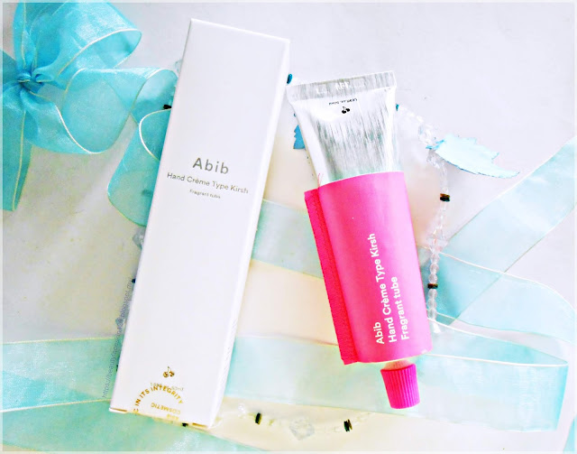 Korean Abib Hand Creme Type Kirsh Fragrant Tube