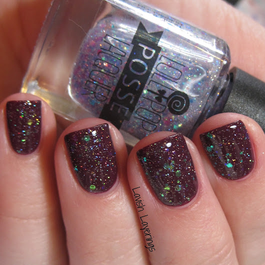 Monday Layerings: Lollipop Posse Lacquer + OPI