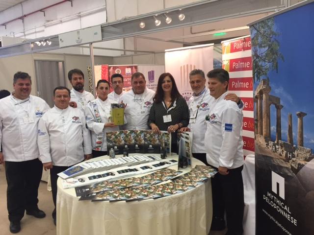 Η Πελοποννησιακή γαστρονομία παρουσιάστηκε στο παγκόσμιο συνέδριο Αρχιμαγείρων WORLDCHEFS CONGRESS στη Θεσσαλονίκη