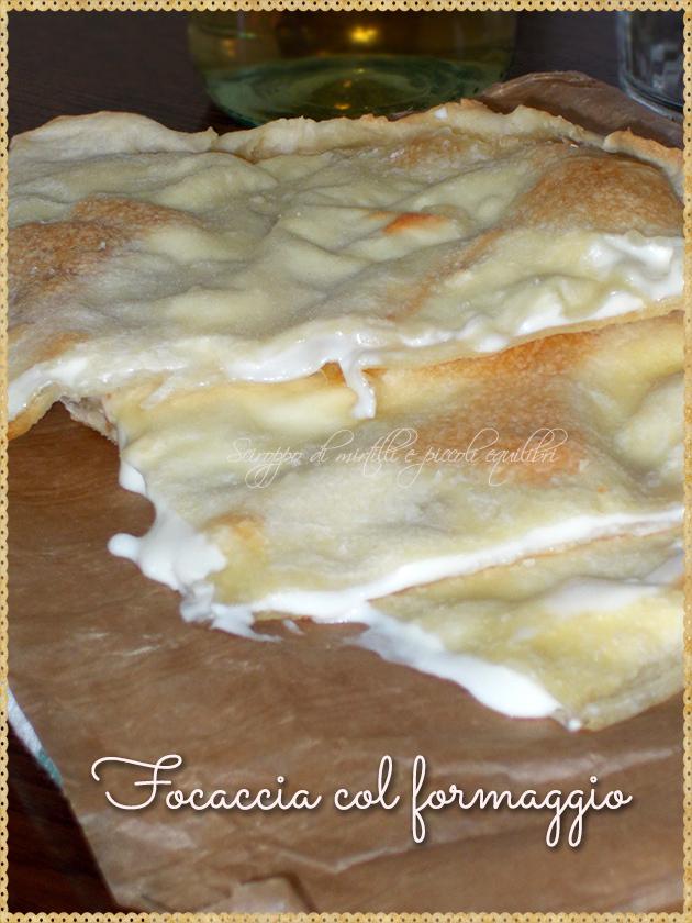 Focaccia col formaggio