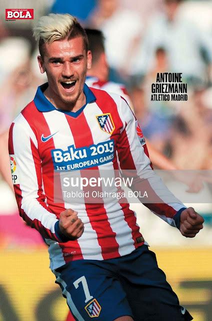 Antoine Griezmann Atletico Madrid 2015