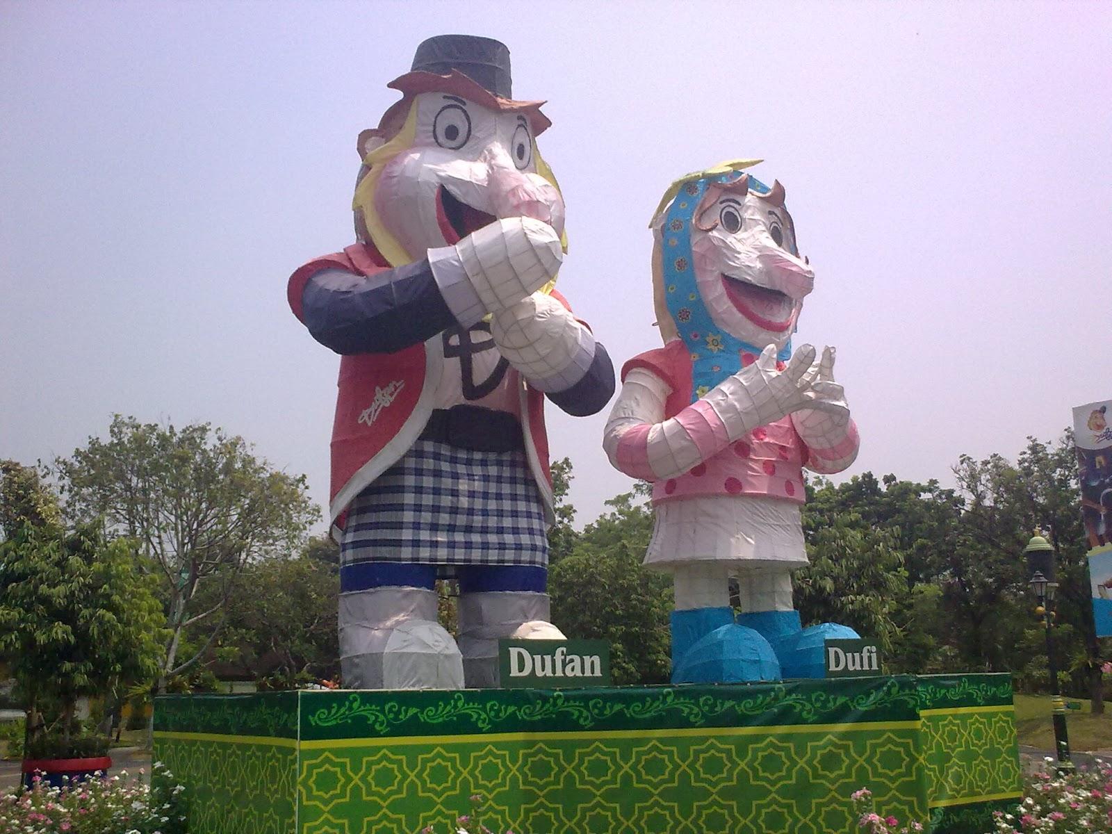 Wisata Keluarga Taman Impian Jaya Ancol Dufan Keliling