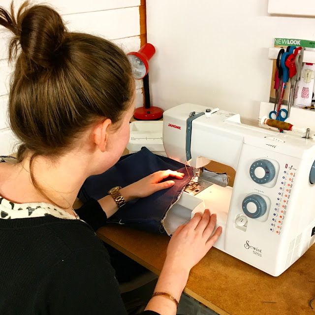 janome sewing project
