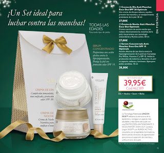 Set Anti-manchas de Oriflame
