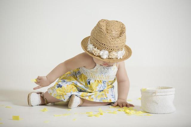 Moda primavera verano 2018 vestidos para bebas. | Minimimo primavera verano 2018 Moda Bebés.