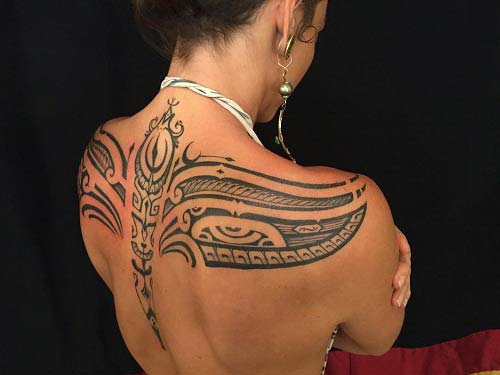 kadın tribal dövmeler woman tribal tattoos 3