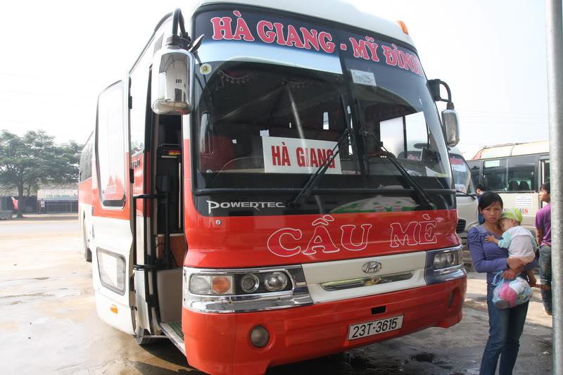 Các hãng xe khách từ Hà Nội đi Hà Giang: giá vé, số xe, giờ chạy