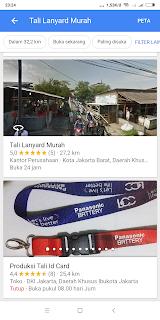 Supplier tali lanyard murah di Jakarta Barat