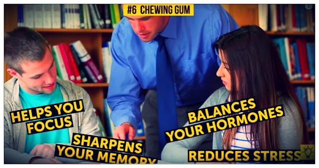 8 Gross Habits That Are Actually Good For You #6 Chewing Gum