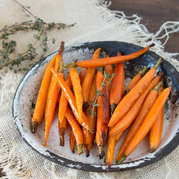 Honey Roasted Carrots by Oh, Sweet Basil
