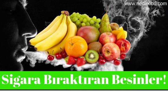 Sigara Bıraktıran Gıdalar, Sigarayı Bırakmanıza Yardımcı Olacak Meyve ve Sebzeler