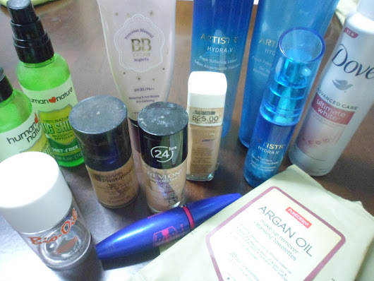 Product Empties February 2016