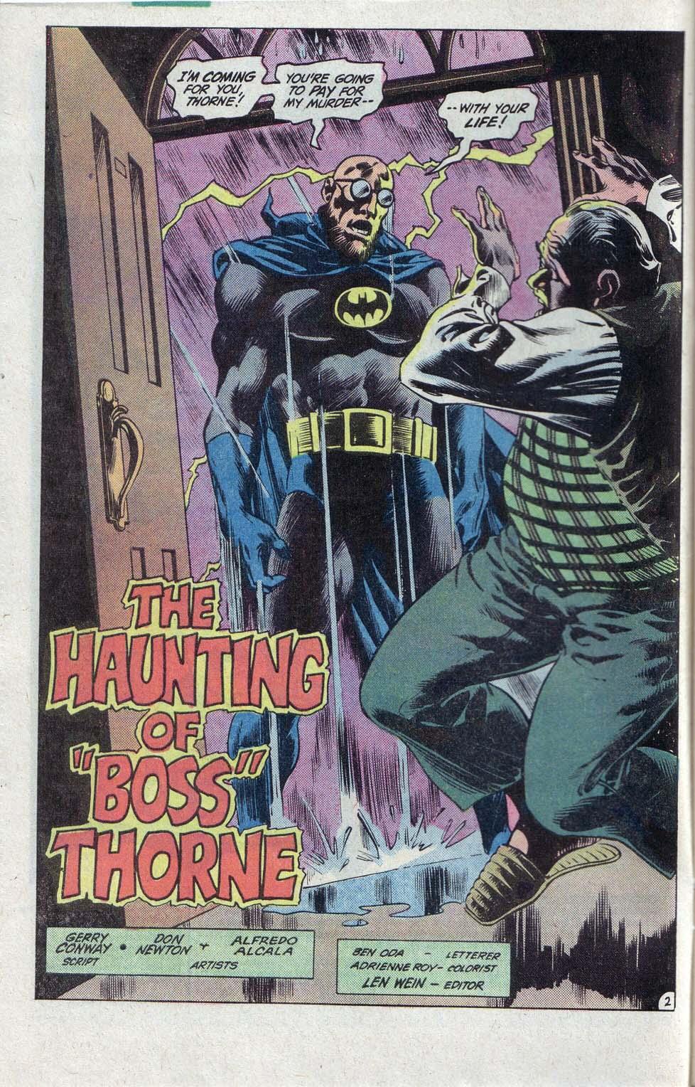 Detective Comics (1937) 520 Page 2