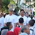 """Peringati HUT Bhayangkara Ke-73, Polres Gresik Jalan Sehat """"JOGO GRESIK"""" Menuju Indonesia Damai"""
