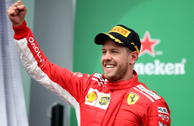 Information About Sebastian Vettel Formula One Racing Driver
