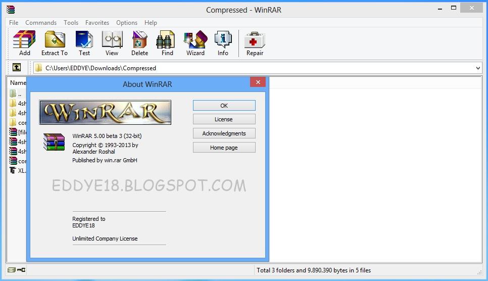 Winrar x86 32 bit 4 00 beta 6 : snorowra