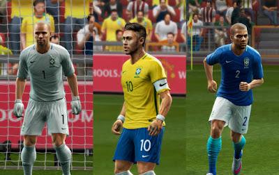 PES 2013 Brazil GDB Copa America 2016 UPDATE by ABIEL