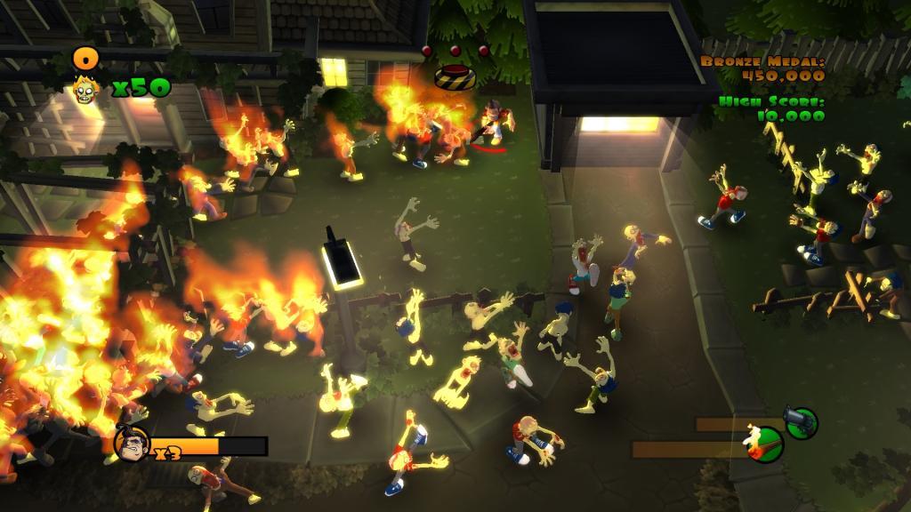 Burn Zombie Burn PC Full Español 2011