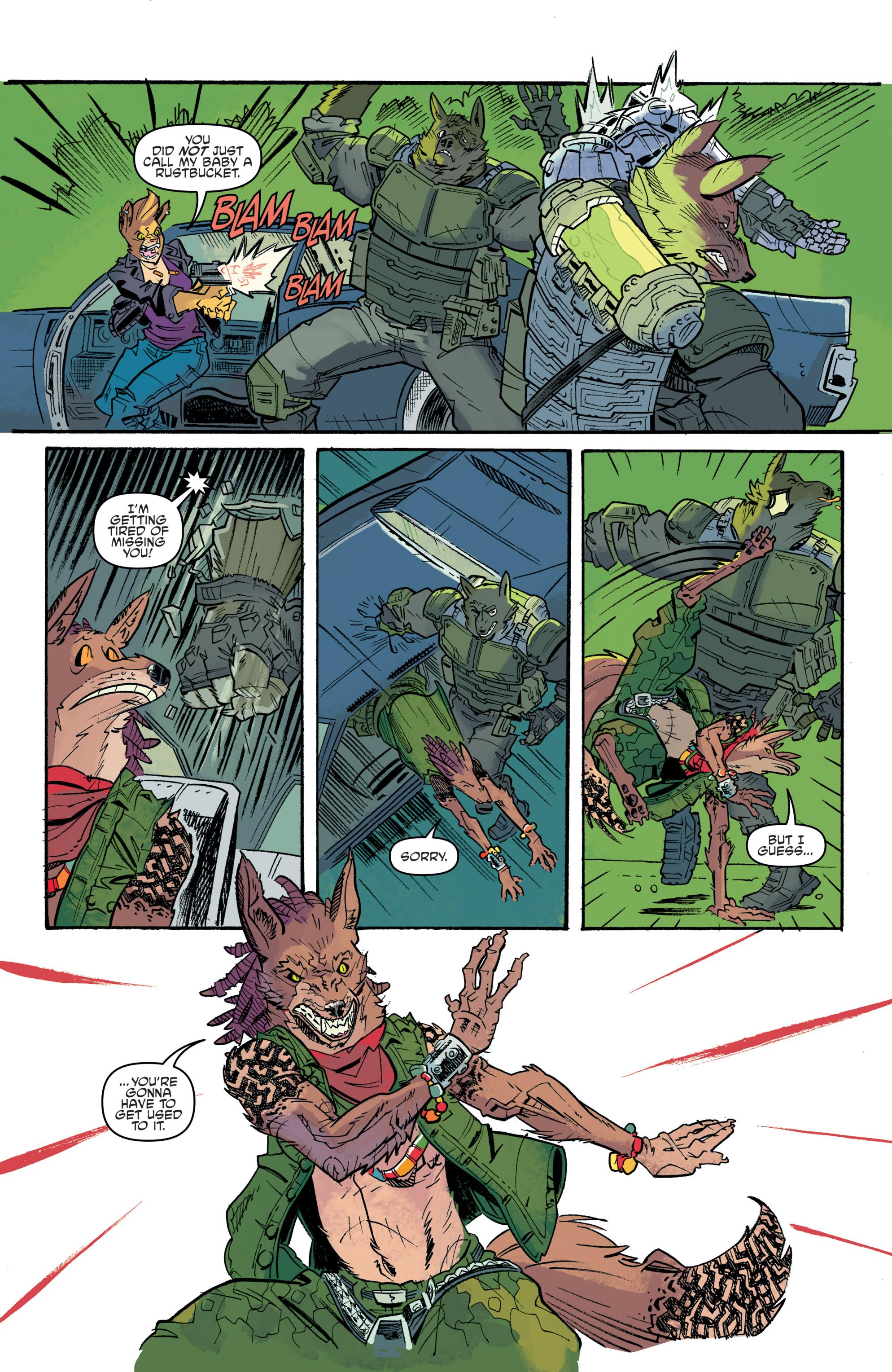 Read online Teenage Mutant Ninja Turtles Universe comic -  Issue #11 - 17