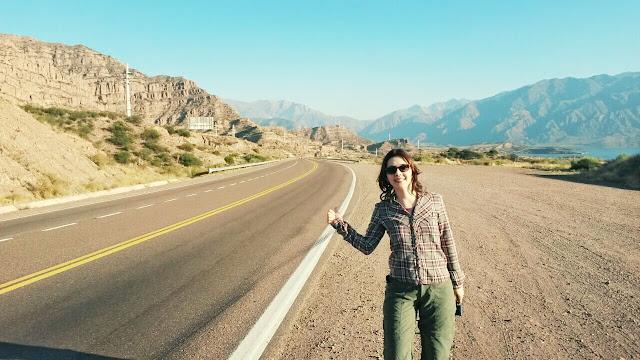 Caminho a Uspallata no Tour Alta Montaña em Mendoza