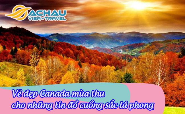 Canada mua thu