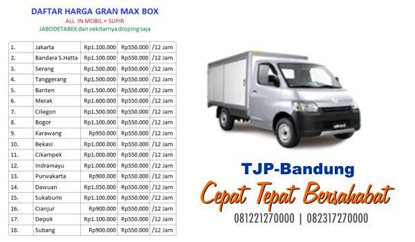 Sewa rental engkel box Bandung