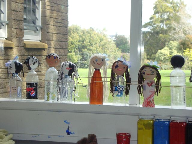 Room 13 Sunnybrae Normal School Rugby World Cup Puppets