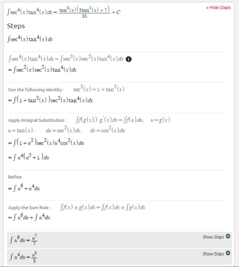 Symbolab Blog Advanced Math Solutions  Integral