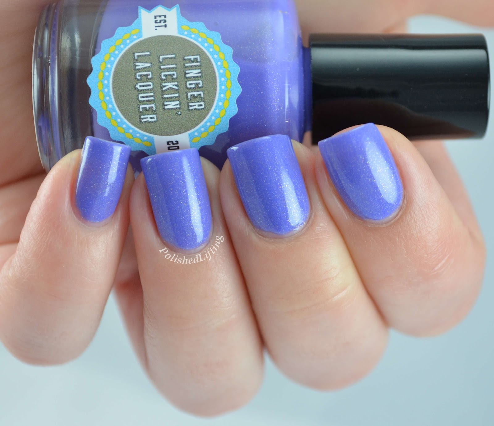 Finger Licking Lacquer Lilac Festival Spring In Your Step