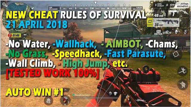 Cheat Rules of Survival Histidin 2.0 Update 21 April 2018 Cheat Rules of Survival Histidin 2.0 Update 21 April 2018