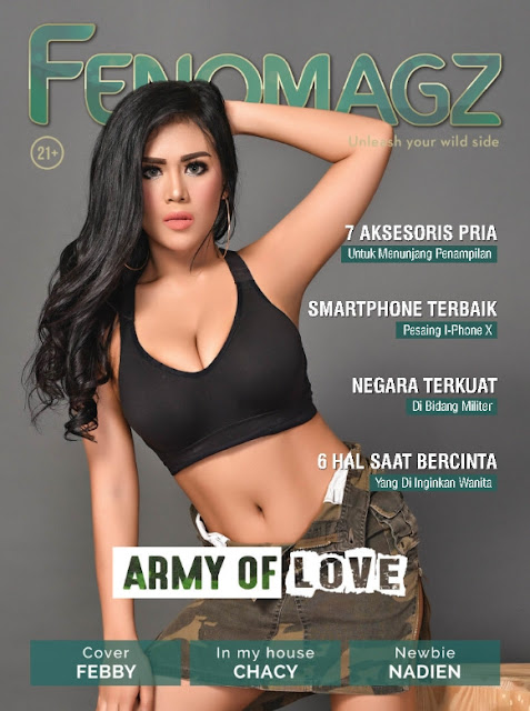 Download Majalah FENOMAGZ Edisi Februari 2018 PDF Febby, Chacy, Nadien | www.zone.downloadmajalah.com