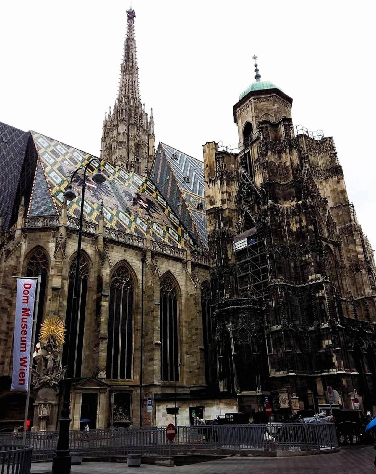 Wiedeń w jeden dzień, wycieczka do Wiednia, Wiedeń katedra św. Szczepana, katedra Szczepana Wiedeń
