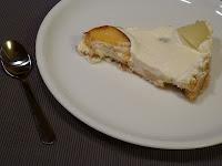 Tarta cu spuma de mascarpone si pepene galben