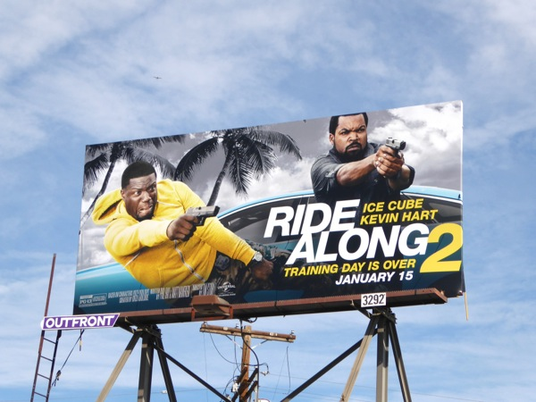 Ride Along 2 film billboard