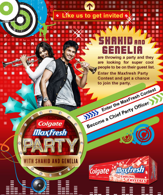 Colgate Max Fresh Party Contest (India) | Free Stuff