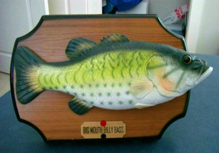 Big Mouth Billy Bass, 80'li yılların en çok satan oyuncaklarından biriydi.